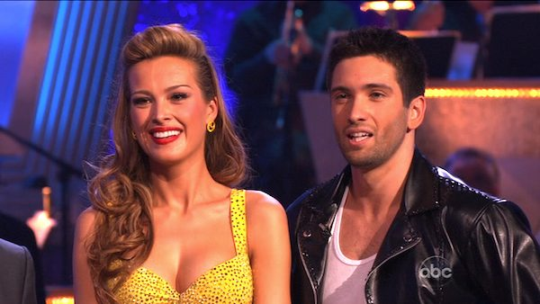 Petra Nemcova and her partner Dmitry Chaplin received 18 out of 30 from the judges for their Jive on week 2 of &#39;Dancing With The Stars&#39; on Monday, March 28, 2011. Combined with the first week scores of 18 out of 30, their total is 36 out of 60.  <span class=meta>(OTRC Photo)</span>