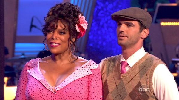 "<div class=""meta ""><span class=""caption-text "">Wendy Williams and  her partner Tony Dovolani received 17 out of 30 from the judges for their Quickstep on week 2 of 'Dancing With The Stars' on Monday, March 28, 2011. Combined with the first week scores of 14 out of 30, their total is 31 out of 60.  (OTRC Photo)</span></div>"