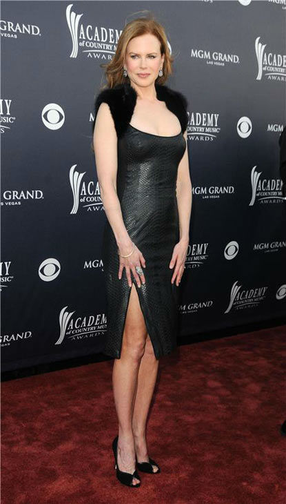 Nicole Kidman appears at the 46th Annual Academy Of Country Music Awards on April 3, 2011. <span class=meta>(KYLE ROVER&#47;startraksphoto.com)</span>