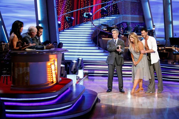 Kirstie Alley and her partner Maksim Chmerkovskiy dance Rumba on week three of &#39;Dancing With The Stars.&#39; The couple received a 21 out of 30 from the judges. <span class=meta>(ABC&#47;Adam Taylor)</span>