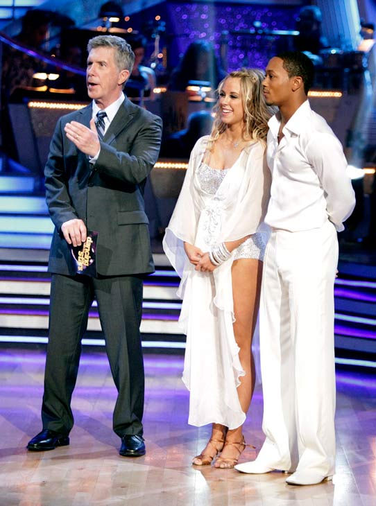 "<div class=""meta ""><span class=""caption-text "">Romeo and his partner Chelsie Hightower received 20 out of 30 from the judges for their Rumba on week three of 'Dancing With The Stars.' (ABC/Adam Taylor)</span></div>"