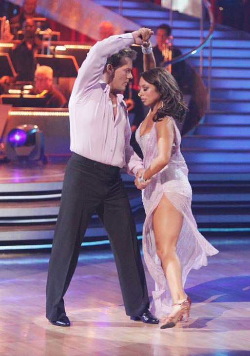Chris Jericho and his partner Cheryl Burke received 21 out of 30 from the judges for their Rumba on week