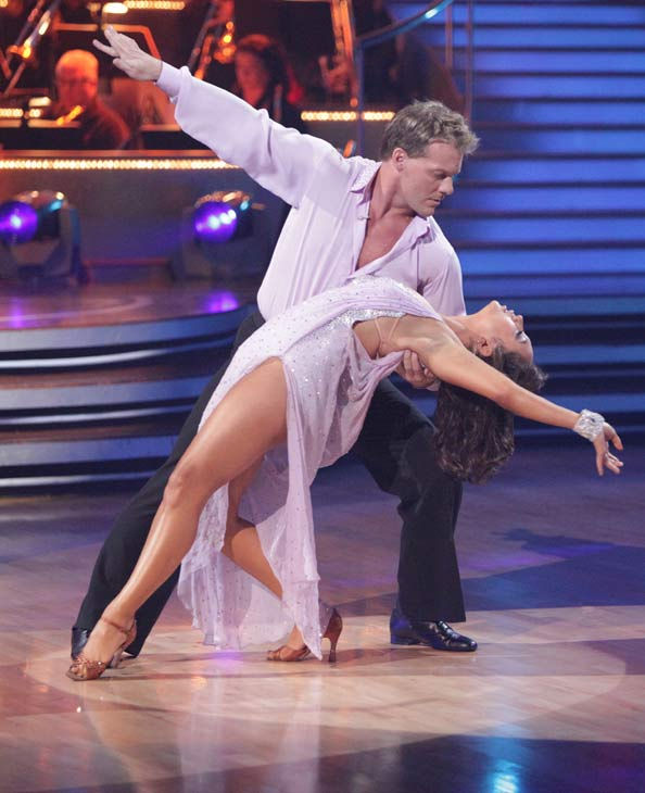 Chris Jericho and his partner Cheryl Burke received 21 out of 30 from the judges for their Rumba