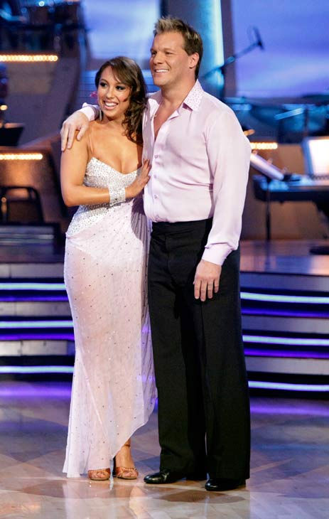 Chris Jericho and his partner Cheryl Burke received 21 out of 30 from the judges for their Rumba on week three of 'Danc