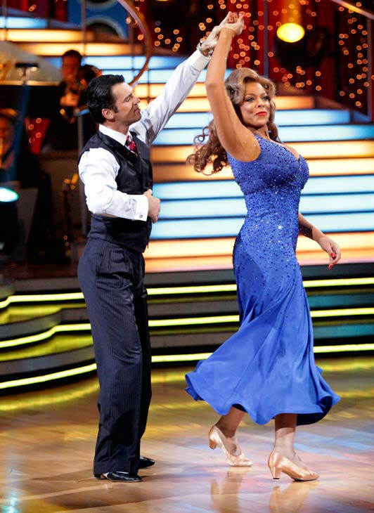 Wendy Williams and her partner Tony Dovolani received 15 out of 30 from the judges for t