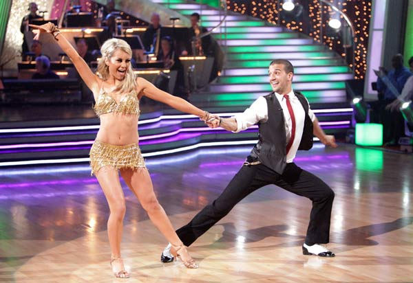 Chelsea Kane and her partner Mark Ballas received 23 out of 30 from the judges for their Cha cha cha on week three of 'Dancing