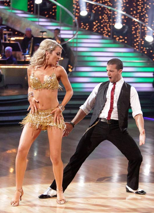 Chelsea Kane and her partner Mark Ballas received 23 out of 30 from the judges for their Cha cha cha on week three of &#39;Dancing With The Stars.&#39; <span class=meta>(ABC&#47;Adam Taylor)</span>