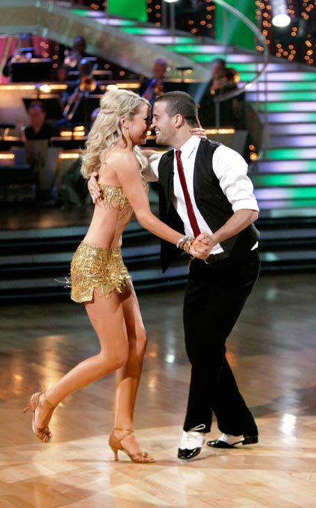 "<div class=""meta ""><span class=""caption-text "">Chelsea Kane and her partner Mark Ballas received 23 out of 30 from the judges for their Cha cha cha on week three of 'Dancing With The Stars.' (ABC/Adam Taylor)</span></div>"