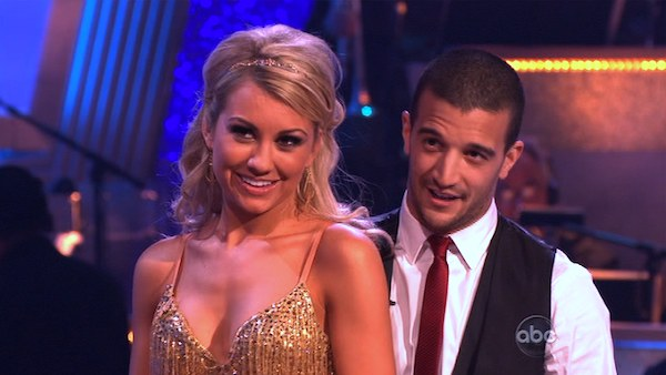 Chelsea Kane and her partner Mark Ballas received 23 out of 30