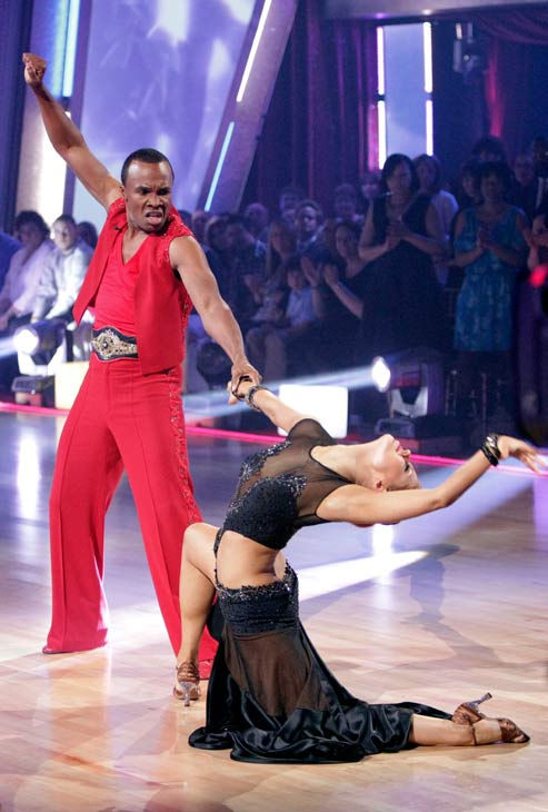 Sugar Ray Leonard and his partner Anna Trebunskaya received 20 out of 30 from the judges for their Paso Doble on week three of 'Dan