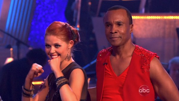 Sugar Ray Leonard and his partner Anna Trebunskaya received 20 out of 30 from the judges for their Paso Doble on week three of 'Da