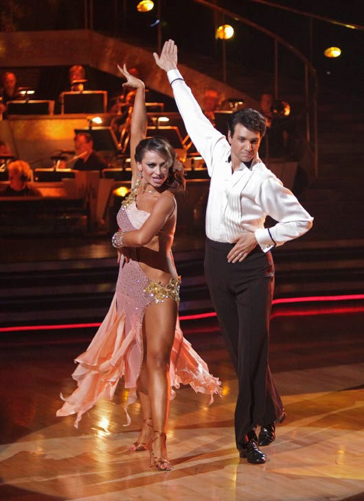 Ralph Macchio and his partner Karina Smirnoff received 21 out of 30 from the judges for