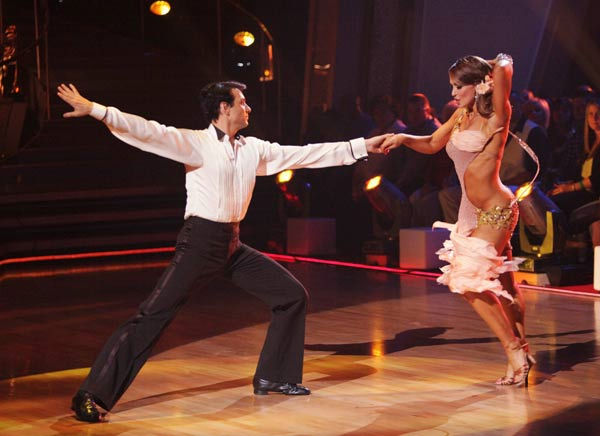 Ralph Macchio and his partner Karina Smirnoff received 21 ou