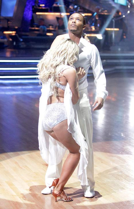 "<div class=""meta image-caption""><div class=""origin-logo origin-image ""><span></span></div><span class=""caption-text"">Romeo and his partner Chelsie Hightower received 20 out of 30 from the judges for their Rumba on week three of 'Dancing With The Stars.' (ABC/Adam Taylor)</span></div>"
