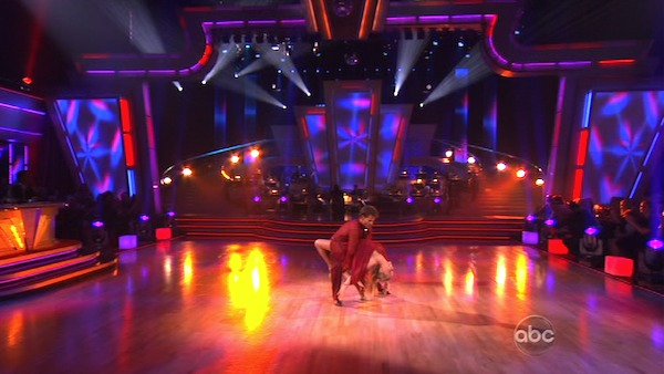 Kendra Wilkinson and her partner Louis van Amstel received 23 out of 30 from the judges for their Rumba on episode