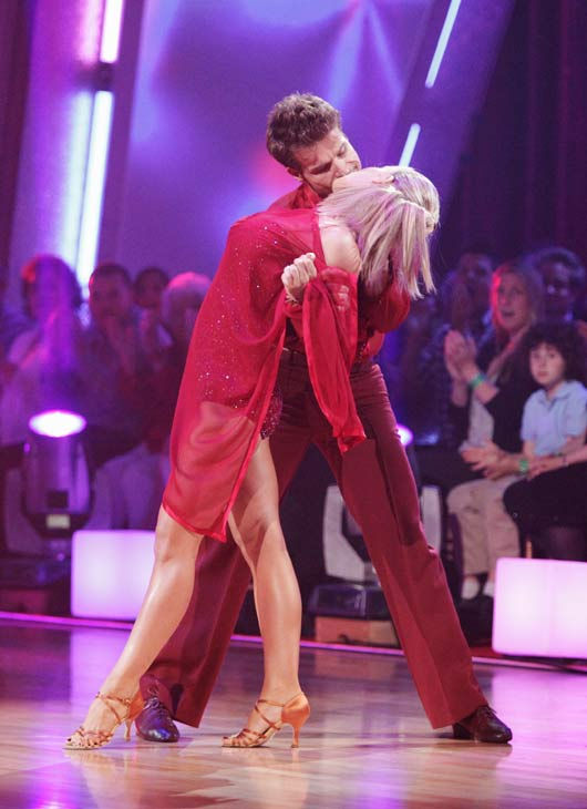Kendra Wilkinson and her partner Louis van Amstel received 23 out of 30 from the judges for their Rumba on episode 3 of 'Dancing With The S