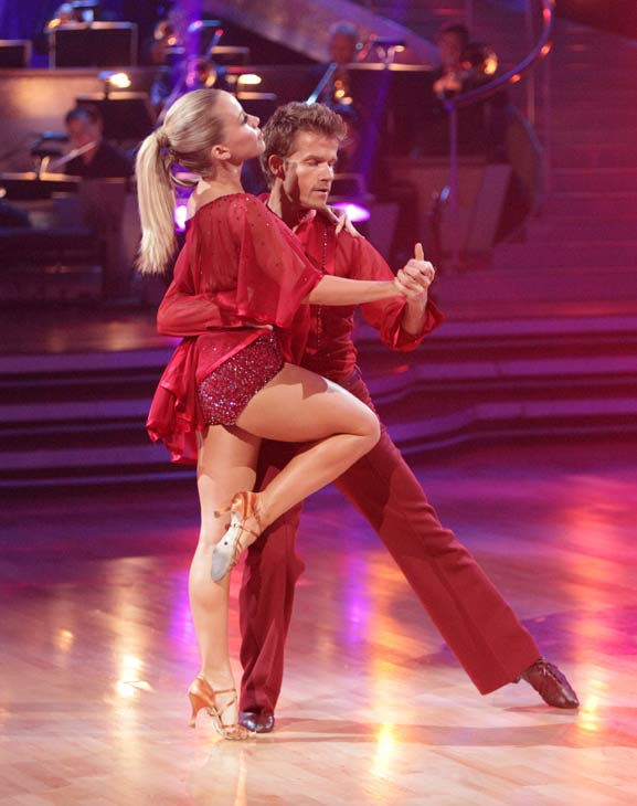 "<div class=""meta ""><span class=""caption-text "">Kendra Wilkinson and her partner Louis van Amstel received 23 out of 30 from the judges for their Rumba on episode 3 of 'Dancing With The Stars.' (ABC/Adam Taylor)</span></div>"