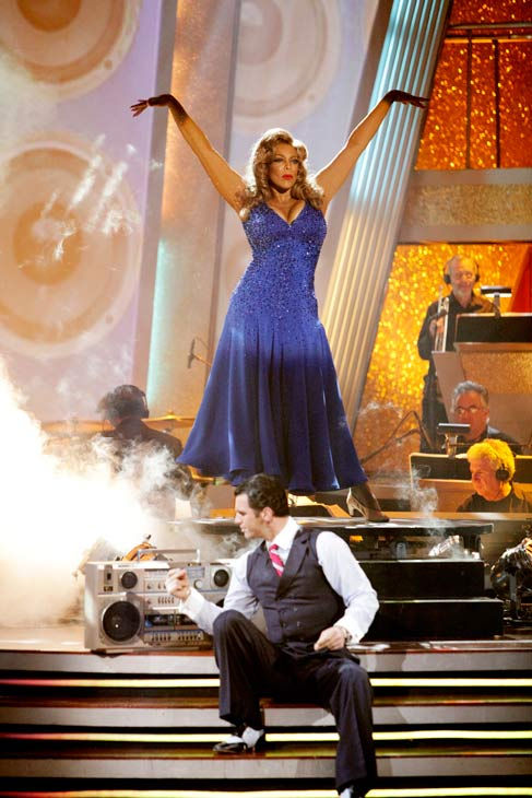 Wendy Williams and her partner Tony Dovolani received 15 out of 30 from the judges for their Fox