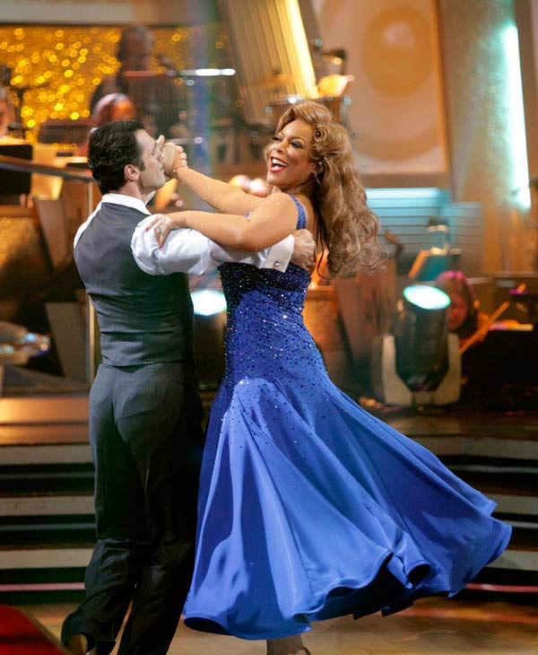 Wendy Williams and her partner Tony Dovolani...