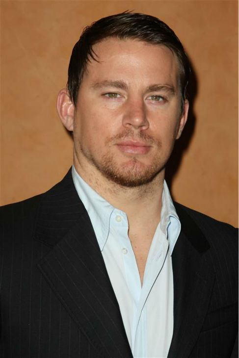 The &#39;Make-It-Three&#39; stare: Channing Tatum appears at a screening of &#39;Earth Made of Glass,&#39; which he executive-produced with wife Jenna Dewan-Tatum, in New York on April 5, 2011. <span class=meta>(Amanda Schwab &#47; Startraksphoto.com)</span>