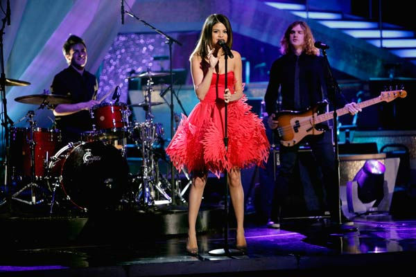 Selena Gomez &#38; The Scene performed their newest single &#39;Who Says&#39; on &#39;Dancing With The Stars: The Results Show,&#39; Tuesday, April 5, 2011. <span class=meta>(ABC Photo&#47; Adam Taylor)</span>
