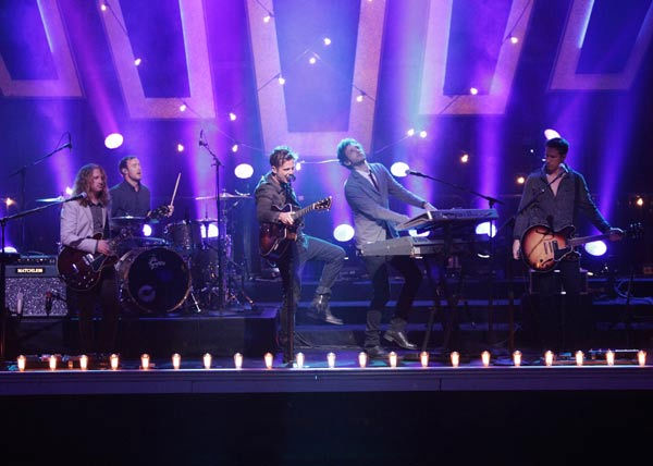 OneRepublic perform their new single 'Good Life' on 'Dancing With The Stars: The Results Show,' Tuesday, April 5, 2011.