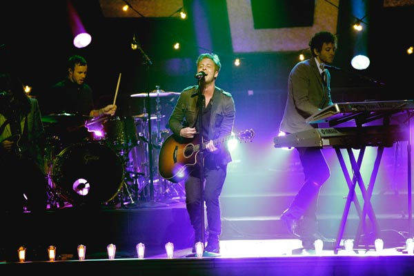 "<div class=""meta ""><span class=""caption-text "">OneRepublic perform their new single 'Good Life' on 'Dancing With The Stars: The Results Show,' Tuesday, April 5, 2011. (ABC Photo/ Adam Taylor)</span></div>"