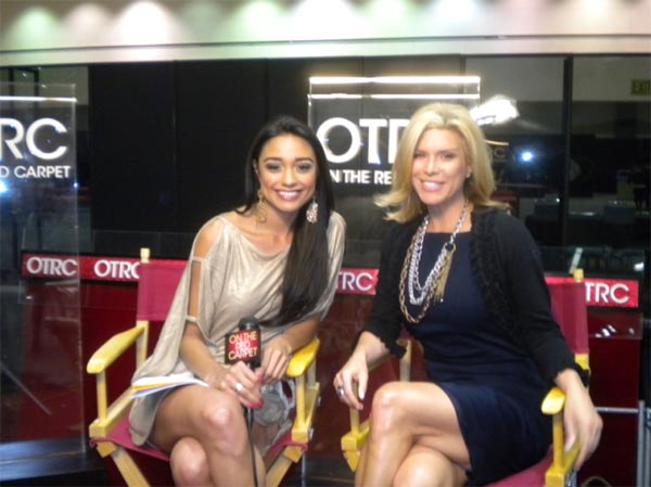 "<div class=""meta ""><span class=""caption-text "">Ali Brown of 'Secret Millionaire' talks to 'On The Red Carpet' host Rachel Smith at the Reality Rocks Expo at the Los Angeles Convention Center on April 9, 2011. (OTRC)</span></div>"