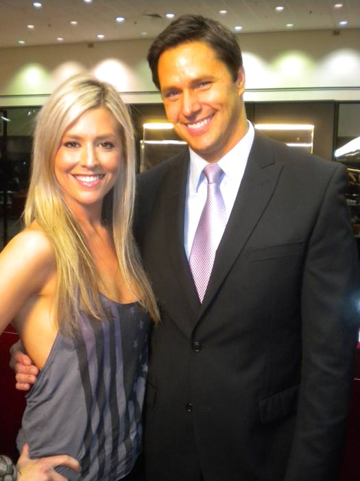 Natalie Getz from &#39;The Bachelor&#39; stops by to chat with &#39;On The Red Carpet&#39; host Chris Balish at the Reality Rocks Expo at the Los Angeles Convention Center on April 9, 2011. <span class=meta>(OTRC)</span>