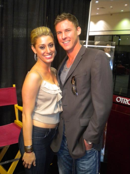 "<div class=""meta ""><span class=""caption-text "">Vienna Girardi from 'The Bachelor' stops by to chat with 'On The Red Carpet' at the Reality Rocks Expo at the Los Angeles Convention Center on April 9, 2011. (OTRC)</span></div>"