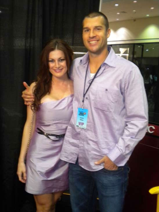 &#39;Big Brother&#39; season 12 stars Rachel Reilly and Brendon Villegas appear at the Reality Rocks Expo at the Los Angeles Convention Center on April 10, 2011.  <span class=meta>(OTRC Photo)</span>