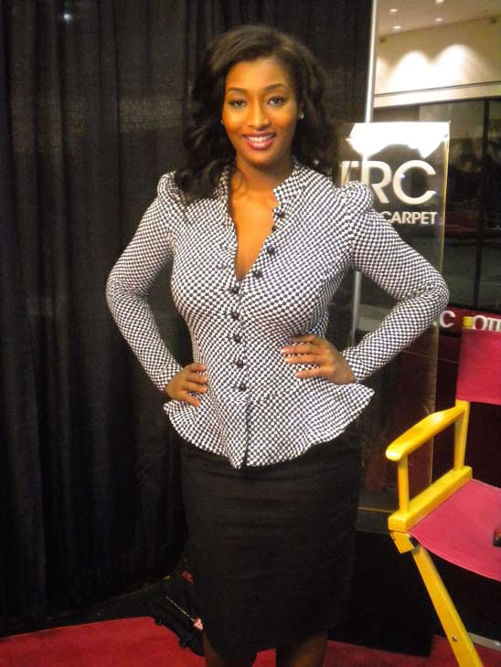 'America's Next Top Model' contestant Toccara appears at the Reality Rocks Expo at the Los Angeles Convention Center on April 10, 2011.