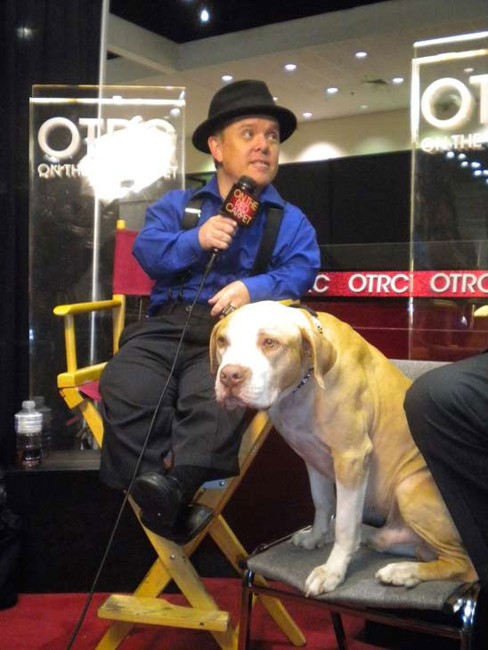 &#39;Pit Boss&#39; star Shorty Rossi talks to &#39;On The Red Carpet&#39;host Chris Balish at the Reality Rocks Expo at the Los Angeles Convention Center on April 10, 2011.  <span class=meta>(OTRC Photo)</span>