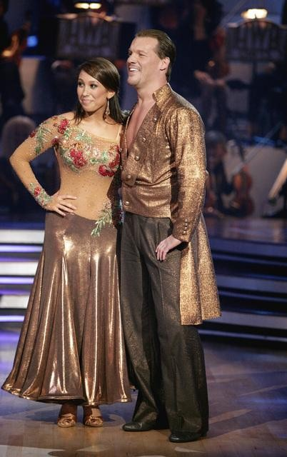 "<div class=""meta image-caption""><div class=""origin-logo origin-image ""><span></span></div><span class=""caption-text"">Chris Jericho and his partner Cheryl Burke received 23 out of 30 from the judges for their Paso Doble on week four of 'Dancing With The Stars.' (ABC/Adam Taylor)</span></div>"