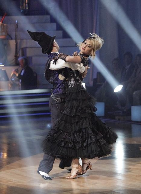 Chelsea Kane and her partner Mark Ballas received 26 out of 30 from the judges for their Viennese Waltz on week four of 'Dancing With The Stars.'