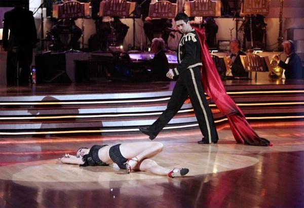 Petra Nemcova and her partner Dmitry Chaplin received 23 out of 30 from the judges for their Paso Doble on week four of 'Dancing With The Stars.'