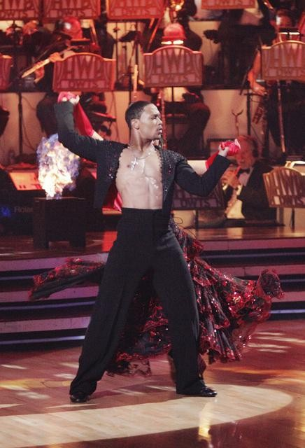Romeo and his partner Chelsie Hightower received 23 out of 30 from the judges for their Paso Doble on week four of &#39;Dancing With The Stars.&#39; <span class=meta>(ABC&#47;Adam Taylor)</span>