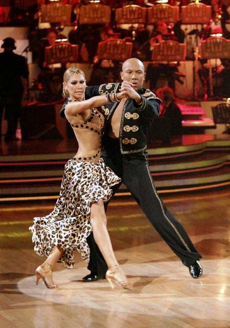 Hines Ward and his partner Kym Johnson received 25 out of 30 from the judges for their Paso Doble on week four of 'Dancing With The Stars.'