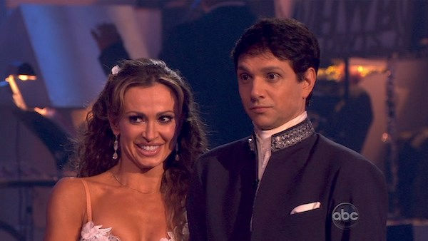 Ralph Macchio and his partner Karina Smirnoff received 25 out of 30 from the judges for their Waltz on week four of &#39;Dancing With The Stars.&#39; <span class=meta>(OTRC Photo)</span>