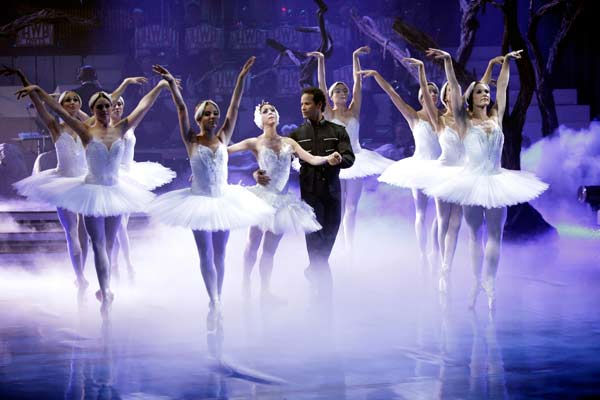 As part of Classical Week, the season&#39;s first &#39;Macy&#39;s Stars of Dance&#39; performance featured three of the most legendary ballet dancers in the world today, performing together on national television for the first time in a specially choreographed routine from &#39;Swan Lake,&#39; on &#39;Dancing with the Stars the Results Show,&#39; on Tuesday, April 12, 2011. &#40;Pictured: LORNA FEIJOO, JOSE MANUEL CARRENO&#41; <span class=meta>(ABC Photo&#47; Adam Taylor)</span>