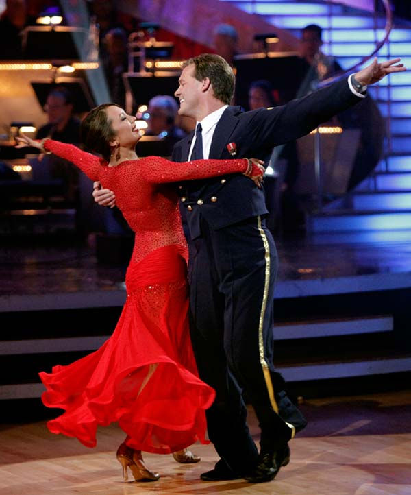 Chris Jericho and his partner Cheryl Burke received 26 out of 30 from the judges for their Viennese Waltz on week five of 'Dancing With The Stars.'