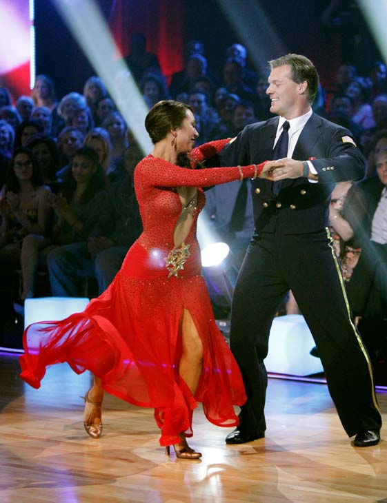 "<div class=""meta ""><span class=""caption-text "">Chris Jericho and his partner Cheryl Burke received 26 out of 30 from the judges for their Viennese Waltz on week five of 'Dancing With The Stars.' (ABC Photo/ Adam Taylor)</span></div>"