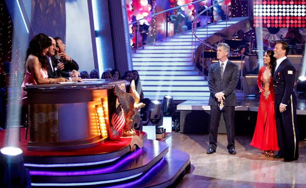 Chris Jericho and his partner Cheryl Burke received 26 out of 30 from the judges for their Viennese Waltz on week five of &#39;Dancing With The Stars.&#39; <span class=meta>(ABC Photo&#47; Adam Taylor)</span>
