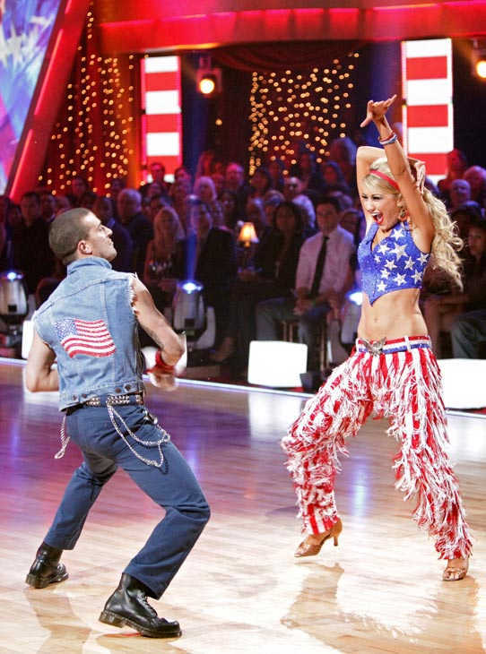 Chelsea Kane and her partner Mark Ballas received 26 out of 30 from the judges for their Samba on week five of 'Dancing With The Stars.'