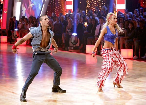 "<div class=""meta image-caption""><div class=""origin-logo origin-image ""><span></span></div><span class=""caption-text"">Chelsea Kane and her partner Mark Ballas received 26 out of 30 from the judges for their Samba on week five of 'Dancing With The Stars.' (ABC Photo/ Adam Taylor)</span></div>"