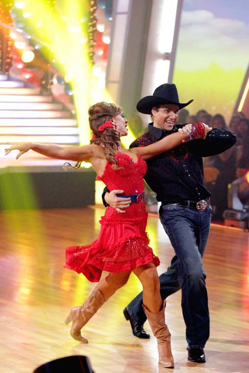 Ralph Macchio and his partner Karina Smirnoff received 22 out of 30 from the judges for their Samba on week five of 'Dancing With The Stars.'