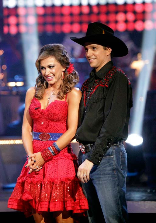Ralph Macchio and his partner Karina Smirnoff received 22 out of 30 from the judges for their Samba on week five of &#39;Dancing With The Stars.&#39; <span class=meta>(ABC Photo&#47; Adam Taylor)</span>