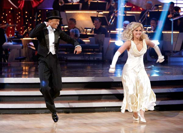 "<div class=""meta ""><span class=""caption-text "">Romeo and his partner Chelsie Hightower received 26 out of 30 from the judges for their Fox Trot on week five of 'Dancing With The Stars.'   (ABC Photo/ Adam Taylor)</span></div>"