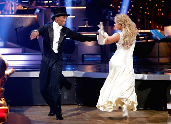 Romeo and his partner Chelsie Hightower received 26 out of 30 from the judges for their Fox Trot on week five of &#39;Dancing With The Stars.&#39;   <span class=meta>(ABC Photo&#47; Adam Taylor)</span>