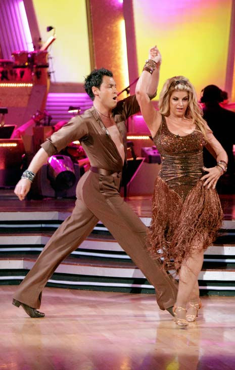 "<div class=""meta ""><span class=""caption-text "">Kirstie Alley and her partner Maksim Chmerkovskiy dance Samba on week six of 'Dancing With The Stars.' The couple received a 26 out of 30 from the judges. (ABC Photo/ Adam Taylor)</span></div>"